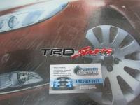 Алюминиевый Шильдик с клеевой основой TRD Sports для автомобилей Toyota