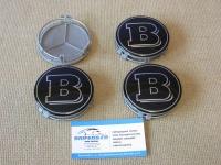 Ступичные колпачки BRABUS для автомобилей  Mercedes-benz