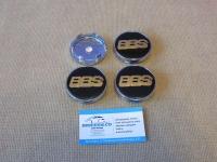 Ступичные колпачки BBS (черно-золото)