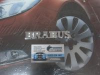 Алюминиевый Шильдик с клеевой основой Brabus для автомобилей Mercedes-Benz