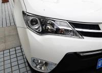 Хромированные накладки на передние фары Toyota Rav4 IV 2013-2015
