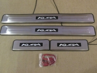 Светодиодные накладки на пороги Ford Kuga 2013 - н.в.