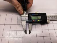 Ступичные колпачки заглушки на диски ЦО Subaru черные 59/52/7 мм 288221SA030 (Цена за 4шт)