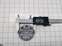 Ступичные колпачки заглушки на диски ЦО KIA черные 59/52/13 мм (Цена за 4шт)