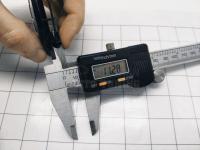 Ступичные колпачки заглушки на диски ЦО Audi черные 67/56/11 мм 800601170 (Цена за 4шт)