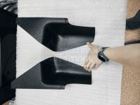 Renault Duster 2010-2020 Накладки на ковролин порогов задние