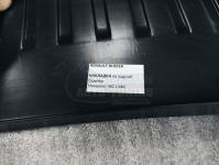 Renault Duster 2010-2020 Накладка на задний бампер с загибом