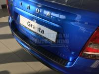 LADA Granta FL седан с 2018 г.в. Накладка на задний бампер с загибом Лада Гранта рестайлинг