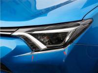 Toyota Rav4 2016-2018 Хромированные накладки под фару