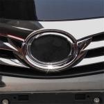 Toyota Corolla 2013-2018 хромированная накладка под эмблему решетки