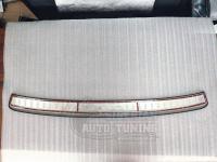 Toyota camry 55\50 2012-2017 Хромированная накладка на задний бампер