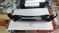 """Mitsubishi ASX 2010-2016 Дефлектор капота черный """"мухобойка"""""""