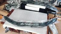 """Nissan Qashqai 2018-2021 Дефлектор капота черный """"мухобойка"""""""