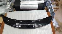 """Nissan Tiida 2004-2014 Дефлектор капота черный """"мухобойка"""""""