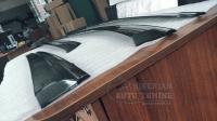 Mazda CX-5 2011-2016 Оригинальные Дефлекторы окон, Ветровики с хромированным молдингом
