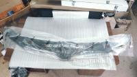 Skoda Octavia 2013-2020 Дефлектор капота черный (спойлер, мухобойка)