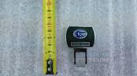 Заглушка в автомобиль с эмблемой Subaru, Обманка в ремень безопасности (пара)