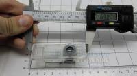 Оригинальная проекция плафон XD-B2 в двери BMW M-power в комплекте 2 шт