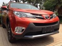 Передние накладки на противотуманные фары Toyota Rav4 IV 2012-2015