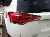 Накладки на задние фонари Toyota  Rav4 IV 2012-2015