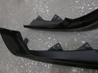 Клыки переднего бампера (ABS пластик) на Honda Accord 8