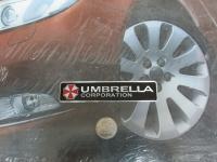 Алюминиевый Шильдик с клеевой основой Umbrella