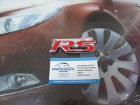 Эмблема алюминиевая для решетки радиатора RS