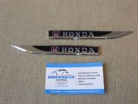 Боковой Алюминиевый Шильдик с клеевой основой Honda