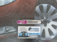 Алюминиевый Шильдик на крыло с клеевой основой STi для автомобилей Subaru