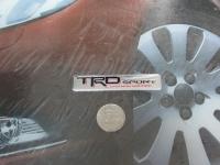 Алюминиевый Шильдик с клеевой основой TRD для автомобилей Toyota