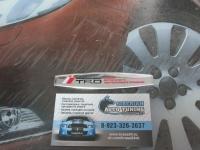 Алюминиевый Шильдик с клеевой основой TRD для автомобилей Toyota 2