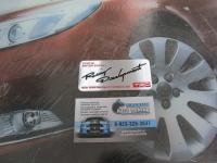 Алюминиевый Шильдик с клеевой основой TRD для автомобилей Toyota 3
