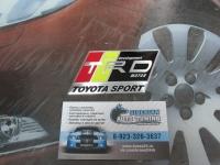 Алюминиевый Шильдик с клеевой основой TRD для автомобилей Toyota 4