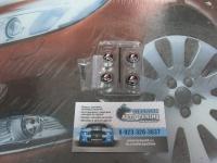 Антивандальные колпачки на ниппеля TRD для Toyota