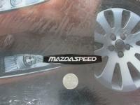 Алюминиевый Шильдик с клеевой основой MazdaSpeed для автомобилей Mazda