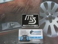 Алюминиевый Шильдик с клеевой основой MazdaSpeed для автомобилей Mazda(2)