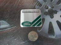 Алюминиевый Шильдик с клеевой основой Land - Rover (Overfinch)