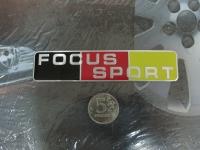 Алюминиевый Шильдик с клеевой основой Focus Sport для автомобилей Ford