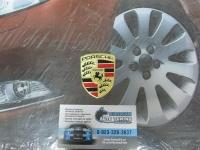 Алюминиевый Шильдик с клеевой основой  для автомобилей Porsche 2