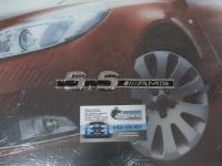 Алюминиевый Шильдик с клеевой основой 5.5 AMG для автомобилей Mercedes-Benz