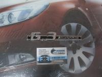 Алюминиевый Шильдик с клеевой основой 6.3 AMG для автомобилей Mercedes-Benz