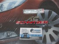Эмблема алюминиевая для решетки радиатора AC schnitzer для автомобилей Mercedes-benz