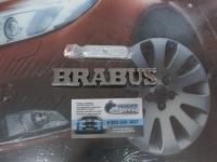 Эмблема алюминиевая для решетки радиатора BRABUS для автомобилей Mercedes-benz