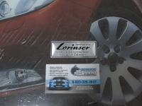 Алюминиевый Шильдик с клеевой основой Lorinser для автомобилей Mercedes-Benz