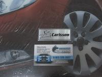 Алюминиевый Шильдик с клеевой основой Carlsson для автомобилей Mercedes-Benz