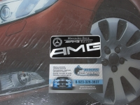 Алюминиевый Шильдик с клеевой основой AMG Edition для автомобилей Mercedes-Benz