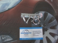 Эмблема алюминиевая для решетки радиатора V8