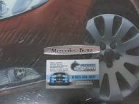 Алюминиевый Шильдик с клеевой основой для автомобилей Mercedes-Benz