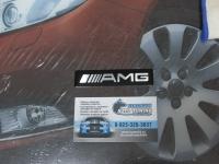 Алюминиевый Шильдик с клеевой основой AMG для автомобилей Mercedes-Benz