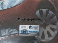 Алюминиевый Шильдик с клеевой основой AMG для автомобилей Mercedes-Benz 107х13мм